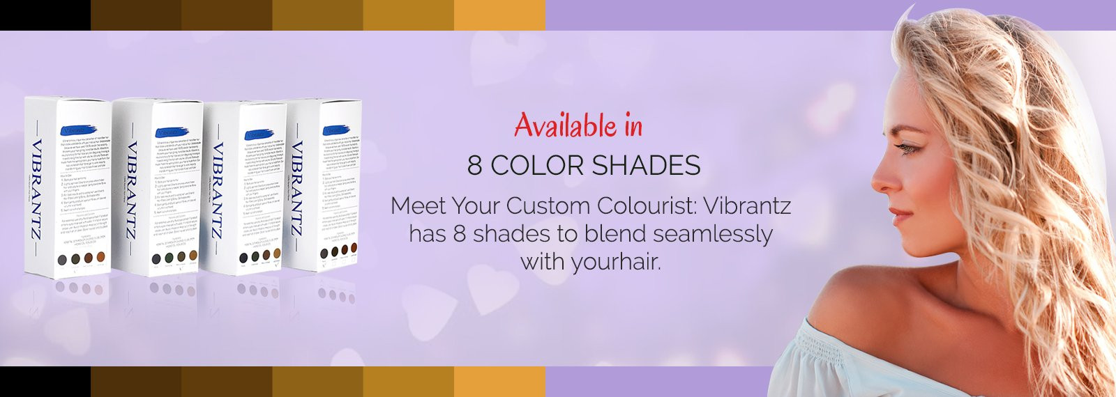 Vibrantzz color shades