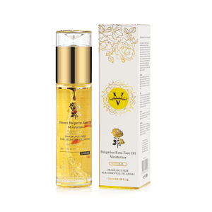 Vibrantz Bulgarian Rose Face Moisturiser – 100 ml – Enhanced Formula